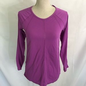 Athleta NWT Foothill Long Sleeve Top SMALL